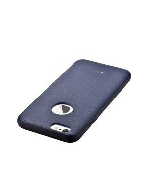 Ovitek trdi usnjen za iPhone 6/6S Original Leather Case Devia Royal Blue