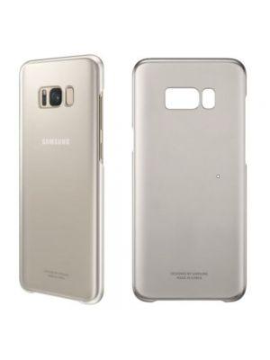 Ovitek trdi za Samsung Galaxy S8+/G955F Original Ultra-thin Clear Cover Gold