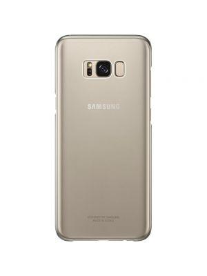 Ovitek trdi za Samsung Galaxy S8/G950F Original Ultra-thin Clear Cover Gold