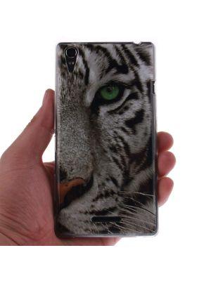 Ovitek silikonski za LG Spirit Tiger Print