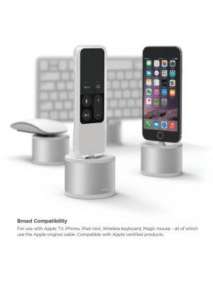 Ponilna postaja za polnjenje Apple aparatov | Elago Srebrna